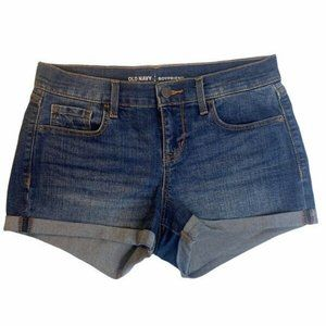 Old Navy Womens Denim Jean Booty Shorts Size 30
